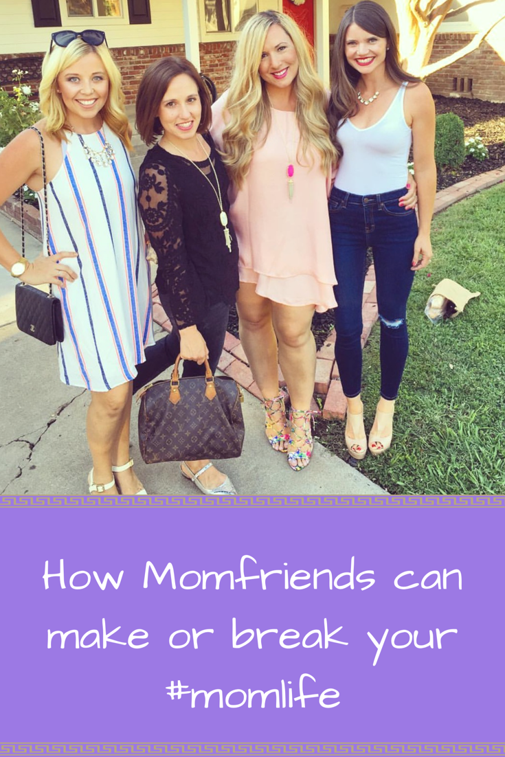 How Momfriends can make or break your #momlife - tips on how to be a good Momfriend